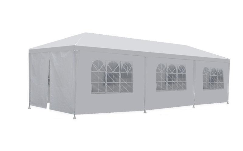 New 10u0027x30u0027 White Outdoor Gazebo Canopy Wedding Party Tent 8 Removable ...  sc 1 st  PayLessHere & New 10u0027x30u0027 White Outdoor Gazebo Canopy Wedding Party Tent 8 ...