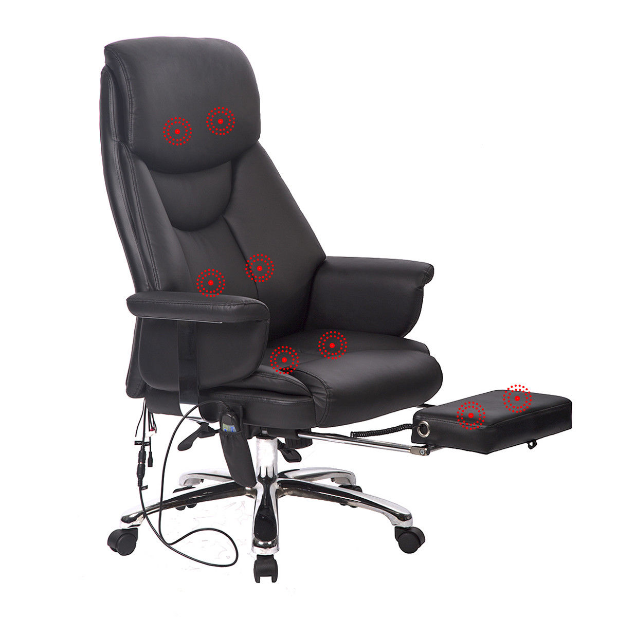 Executive Office Massage Chair Vibrating Ergonomic