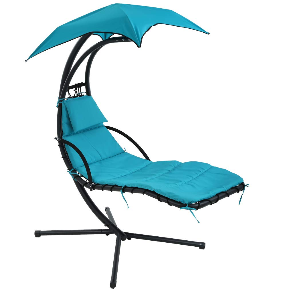 Fdw Patio Chair Hanging Chaise Lounger Chair Floating
